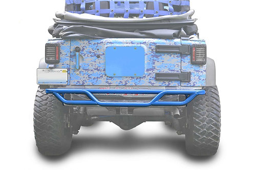 Steinjäger Bumpers Wrangler JK 2007-2018 Bumper, Rear, Tube Playboy Blue