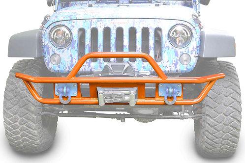 Steinjäger Bumpers Wrangler JK 2007-2018 Bumper, Front, Tube Fluorescent Orange