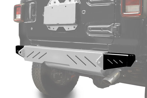 Wrangler JL 2018 to Present Bumper End Caps, Rear Cap Style Bare