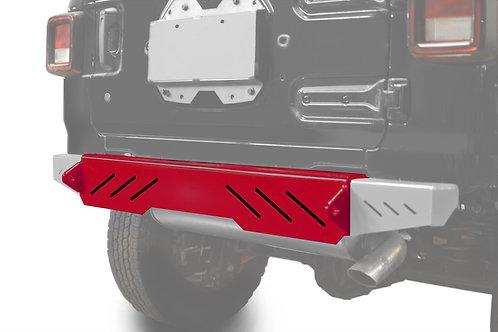 Wrangler JL 2018 to Present Bumper, Rear Cap Style Red Baron
