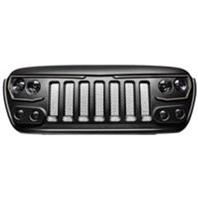Oracle Lighting Vector Pro-Series Full LED Grill (Flat Black) - 5837-PRO