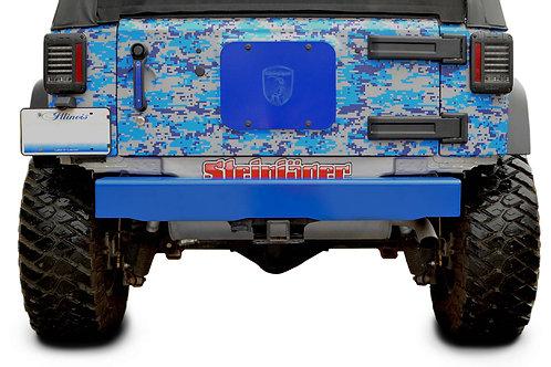 Steinjäger Bumpers Wrangler JK 2007-2018 Bumper, Rear Cap Style Playboy Blue