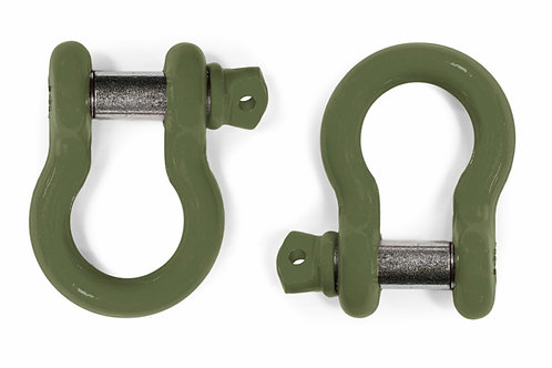 Steinjäger D-Ring Shackle CJ-8 1981-1986 Locas Green 2 D-rings