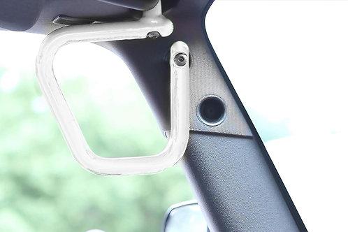 Grab Handle Kit, Jeep JK Front, Rigid Wire Form, Cloud White