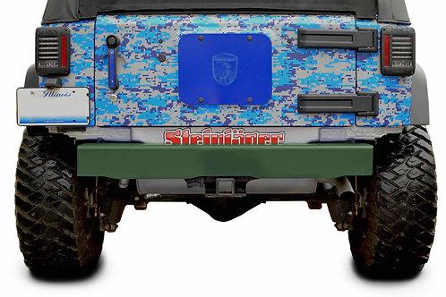 Steinjäger Bumpers Wrangler JK 2007-2018 Bumper, Rear Cap Style Locas Green