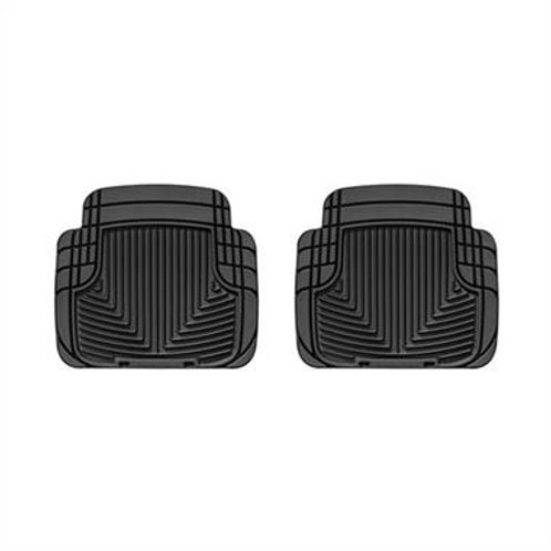 WeatherTech All Weather Rear Rubber Floor Mats (Black) - W50