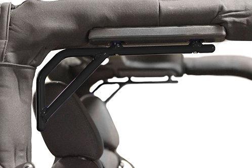 Grab Handle Kit, Jeep JK, Rear, Rigid Wire Form, Black