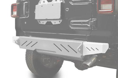 Wrangler JL 2018 to Present Bumper End Caps, Rear Cap Style Cloud White
