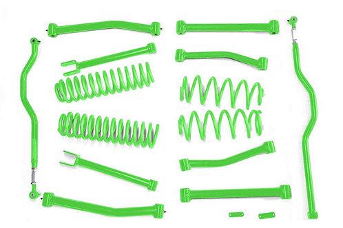Steinjäger Lift Kit Wrangler JK 2007-2018 4 Inch Neon Green