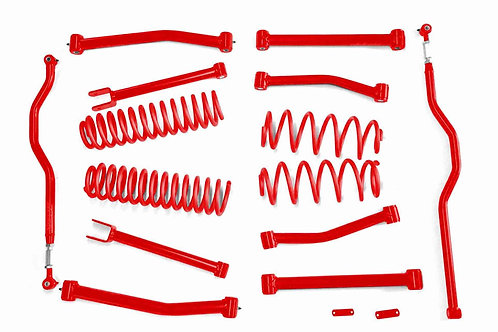 Steinjäger Lift Kit Wrangler JK 2007-2018 4 Inch Red Baron