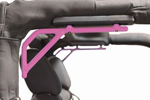 Grab Handle Kit, Jeep JK, Rear, Rigid Wire Form, Pinky