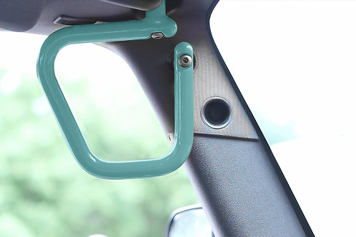 Grab Handle Kit, Jeep JK Front, Rigid Wire Form, Tiffany Blue