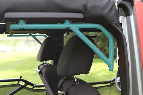 Grab Handle Kit, Jeep JKU Rear, 4 Door Rigid Wire Form, Tiffany Blue