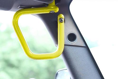 Grab Handle Kit, Jeep JK Front, Rigid Wire Form, Lemon Peel