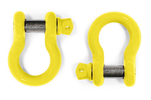Steinjäger D-Ring Shackle Wrangler JK 2007-2017 Lemon Peel 2 D-rings