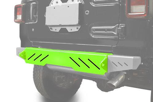 Wrangler JL 2018 to Present Bumper, Rear Cap Style Neon Green
