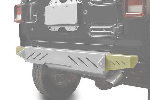 Wrangler JL 2018 to Present Bumper End Caps, Rear Cap Style Military Beige