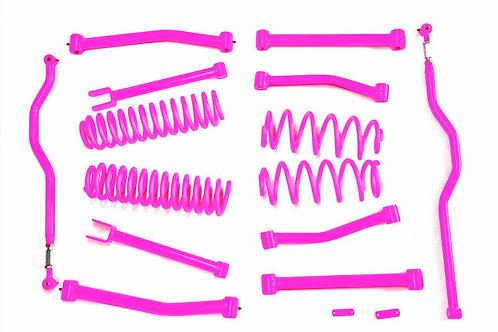 Steinjäger Lift Kit Wrangler JK 2007-2018 4 Inch Hot Pink
