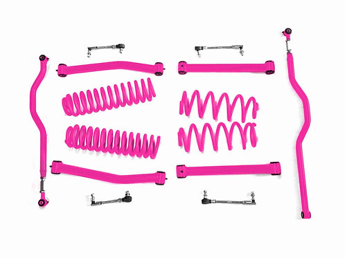 Steinjäger Lift Kit Wrangler JK 2007-2018 2.5 Inch Hot Pink