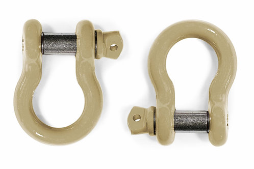 Steinjäger D-Ring Shackle Wrangler TJ 1997-2006 Military Beige 2 D-rings
