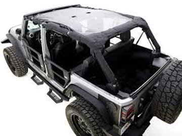17-17 WRANGLER UNLIMITED MESH SHADE TOP 4 DR