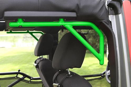 Grab Handle Kit, Jeep JK Rear, 4 Door Rigid Wire Form, Neon Green