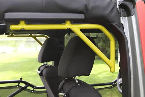 Grab Handle Kit, Jeep JK Rear, 4 Door Rigid Wire Form, Lemon Peel