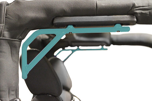 Grab Handle, Jeep JK, Rigid Wire Form, Tiffany Blue, Rear Seat, Kit, 2 Door Only