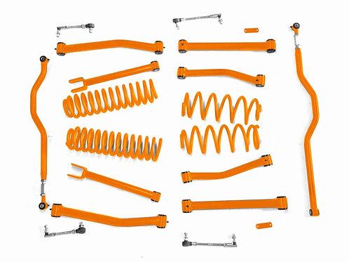 Steinjäger Lift Kit Wrangler JK 2007-2018 4 Inch Fluorescent Orange