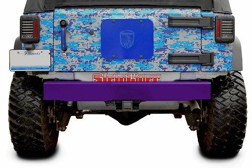 Steinjäger Bumpers Wrangler JK 2007-2018 Bumper, Rear Cap Style Sinbad Purple