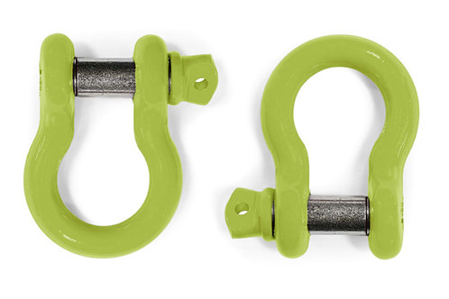Steinjäger D-Ring Shackle CJ-8 1981-1986 Gecko Green 2 D-rings