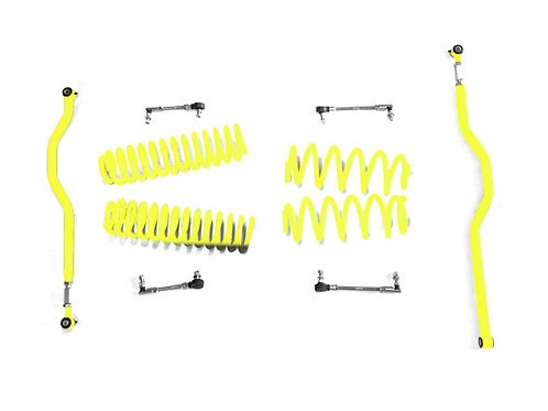 Steinjäger Lift Kit Wrangler JK 2007-2018 2.5 Inch Neon Yellow