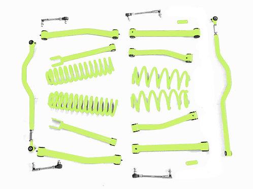 Steinjäger Lift Kit Wrangler JK 2007-2018 4 Inch Gecko Green