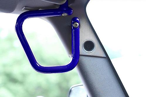 Grab Handle Kit, Jeep JK Front, Rigid Wire Form, Southwest Blue