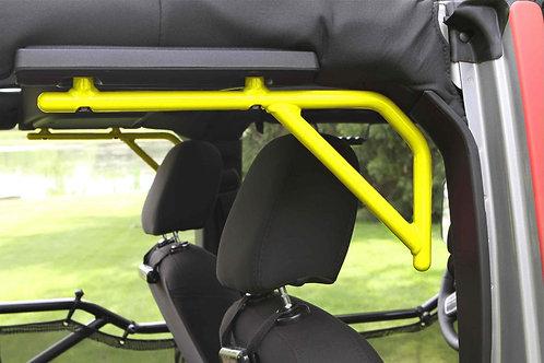 Grab Handle Kit, Jeep JK Rear, 4 Door Rigid Wire Form, Neon Yellow