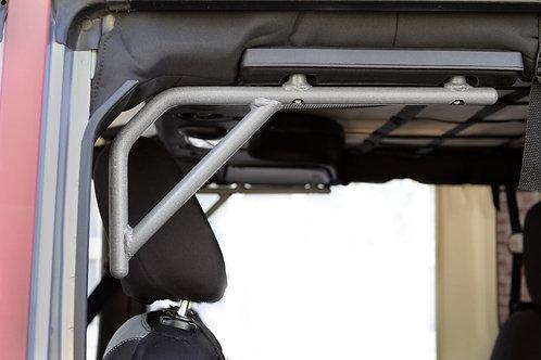 Grab Handle Kit, Jeep JK Rear, 4 Door Rigid Wire Form, Gray Hammertone