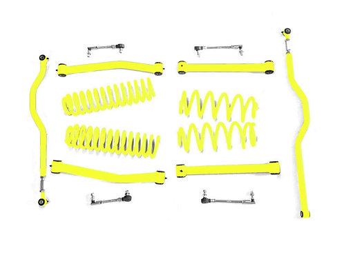 Steinjäger Lift Kit Wrangler JK 2007-2018 2.5 Inch Neon Yellow