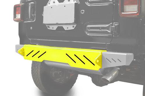 Wrangler JL 2018 to Present Bumper, Rear Cap Style Neon Yellow