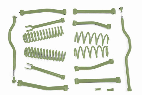 Steinjäger Lift Kit Wrangler JK 2007-2018 4 Inch Locas Green