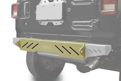 Wrangler JL 2018 to Present Bumper, Rear Cap Style Military Beige