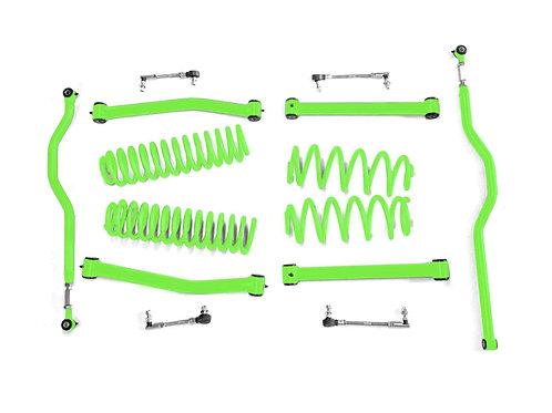 Steinjäger Lift Kit Wrangler JK 2007-2018 2.5 Inch Neon Green