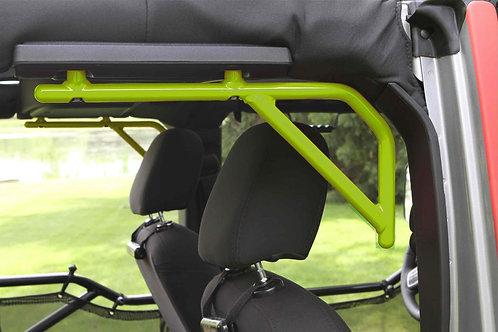 Grab Handle Kit, Jeep JK Rear, 4 Door Rigid Wire Form, Gecko Green