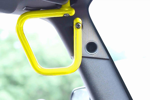 Grab Handle Kit, Jeep JK Front, Rigid Wire Form, Neon Yellow