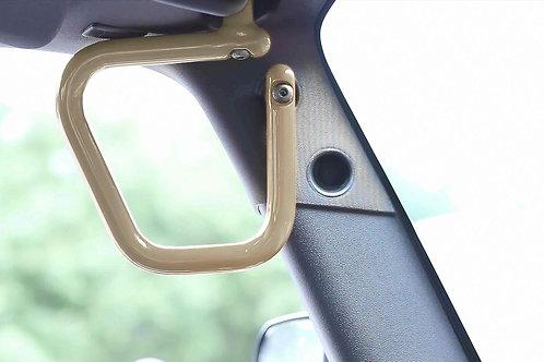 Grab Handle Kit, Jeep JK Front, Rigid Wire Form, Military Beige