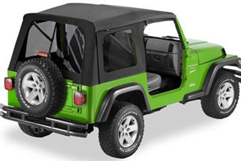 Supertop with Tinted Windows without Doors