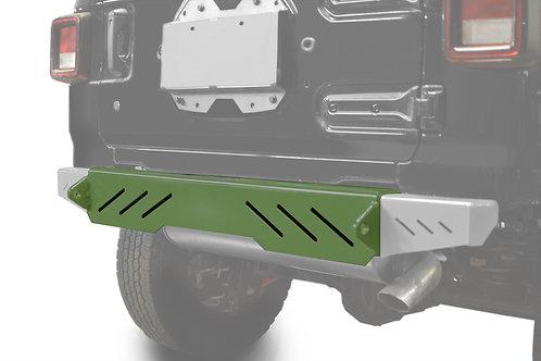 Wrangler JL 2018 to Present Bumper, Rear Cap Style Locas Green