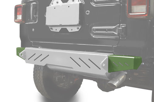 Wrangler JL 2018 to Present Bumper End Caps, Rear Cap Style Locas Green