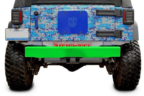Steinjäger Bumpers Wrangler JK 2007-2018 Bumper, Rear Cap Style Neon Green