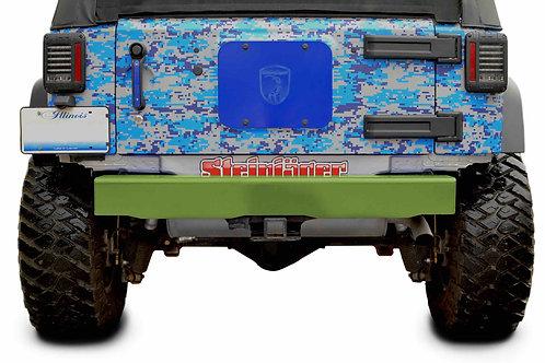 Wrangler JK 2007-2018 Bumper, Rear Cap Style Gecko Green