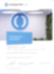 Сертификат Партнер банка Открыие